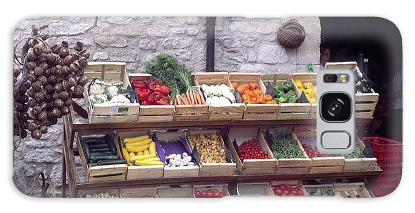 French Vegetable Stand Galaxy Case