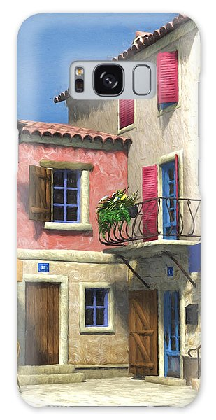 French Village Scene - Provence Galaxy Case