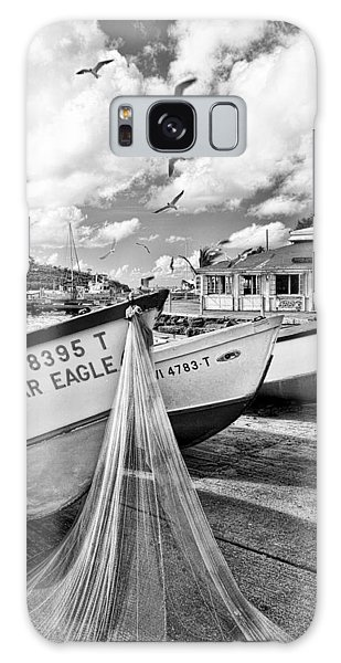 Frenchtown Fishing Boats 1 Galaxy Case