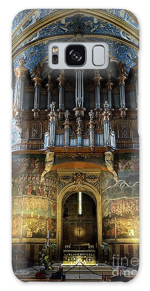 Fresco Of The Last Judgement And Organ In Albi Cathedral Galaxy Case by RicardMN Photography