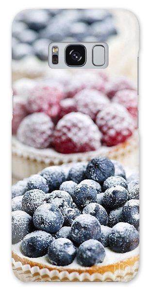 Raspberry Galaxy S8 Case - Fresh Berry Tarts by Elena Elisseeva
