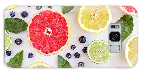 Fresh Citrus Fruits Galaxy Case