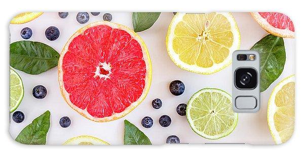 Fresh Citrus Fruits Galaxy Case