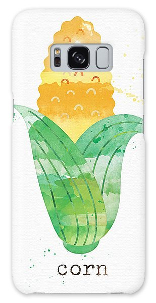 Rural Scenes Galaxy S8 Case - Fresh Corn by Linda Woods