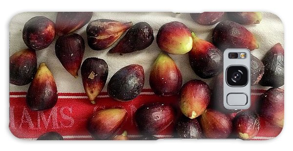 Fresh Figs Galaxy Case by Kim Nelson