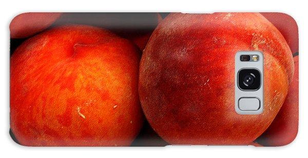 Fresh Fuzzy Peaches Galaxy Case