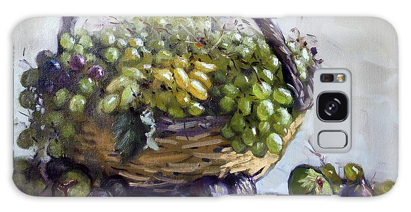 Grape Galaxy Case - Fresh Grapes And Figs From Lida's Garden by Ylli Haruni