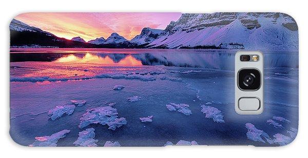 Fresh Ice On Bow Lake Galaxy Case