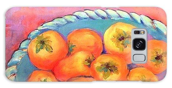 Fresh Persimmons Galaxy Case