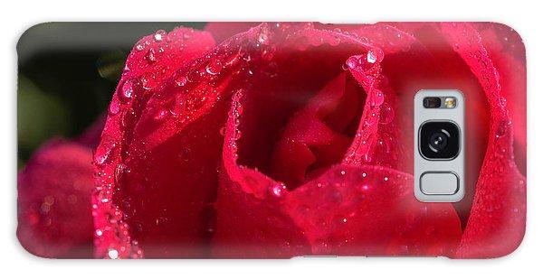 Fresh Rose Galaxy Case