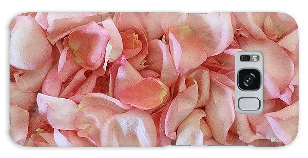 Fresh Rose Petals Galaxy Case