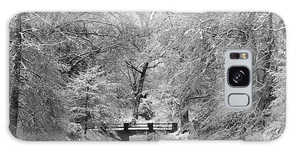 Fresh Snowfall At Mount Auburn Cemetery Galaxy Case