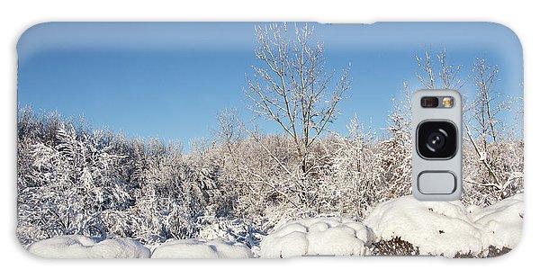 Fresh Snowfall Galaxy Case
