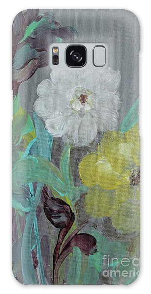 Galaxy Case featuring the painting Fresh Start  by Robin Maria Pedrero