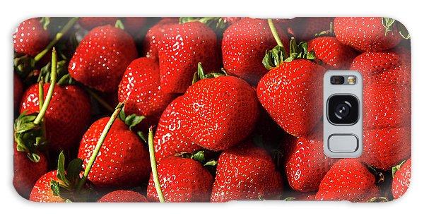 Fresh Strawberries Galaxy Case