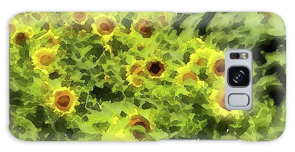 Fresh Sunflowers Galaxy Case