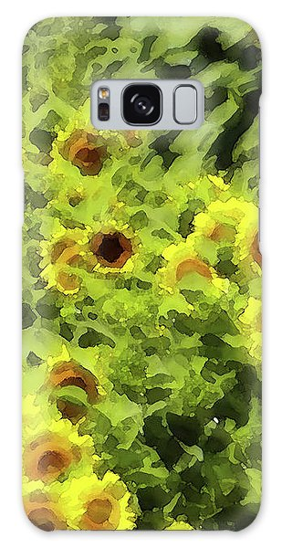 Fresh Sunflowers Galaxy Case
