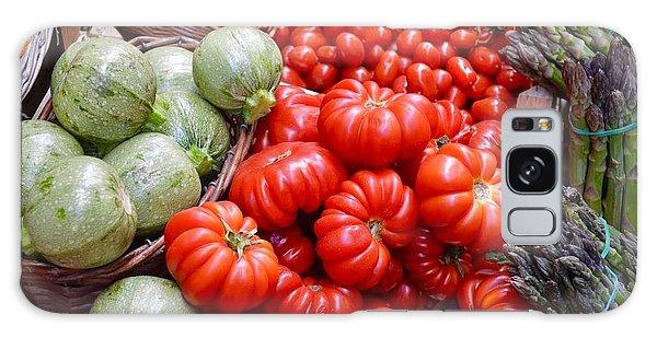 Fresh Vegetables Galaxy Case