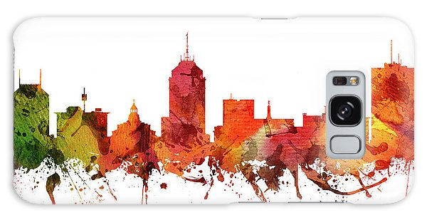 Colours Galaxy Case - Fresno Cityscape 04 by Aged Pixel
