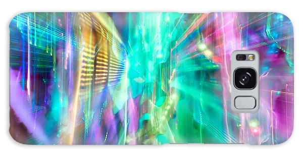 Colours Galaxy Case - Friction by Az Jackson