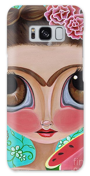 Frida And The Watermelon Galaxy Case