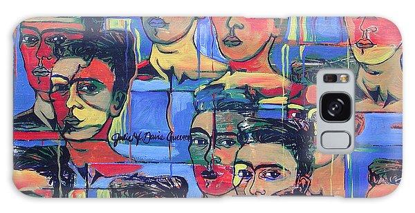 Frida Blue And Orange Galaxy Case