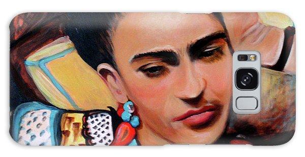 Frida Galaxy Case by Jan VonBokel