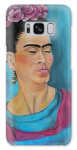 Frida Galaxy Case by Jenny Pickens