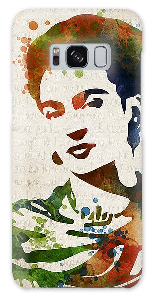 Frida Kahlo Galaxy Case by Mihaela Pater
