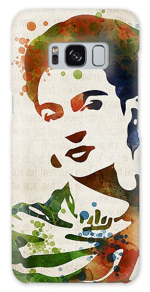 Frida Kahlo Galaxy Case by Mihaela Pater