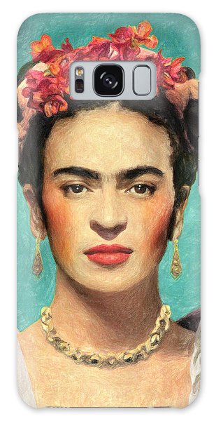 Famous Artist Galaxy Case - Frida Kahlo by Zapista