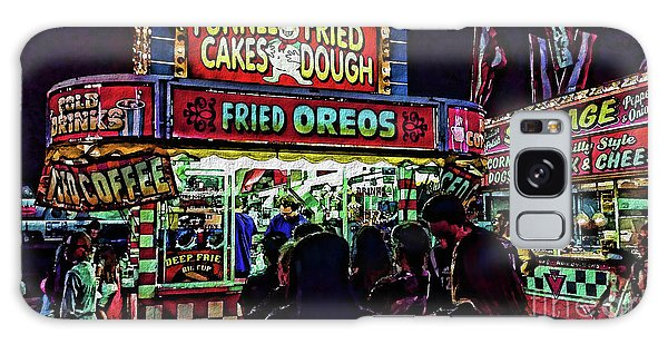 Fried Oreos Galaxy Case