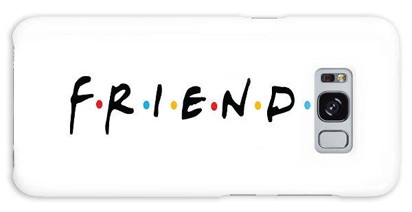 Friends Galaxy Case by Jaime Friedman