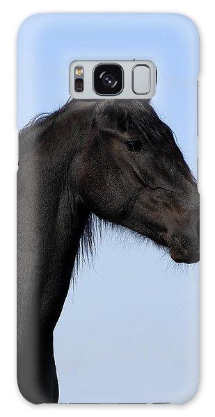 Friesian Stallion Galaxy Case by Michael Mogensen