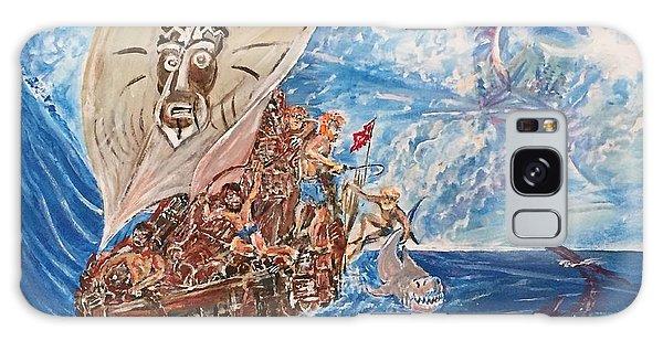 Friggin In The Riggin - Kon Tiki Expedition Galaxy Case