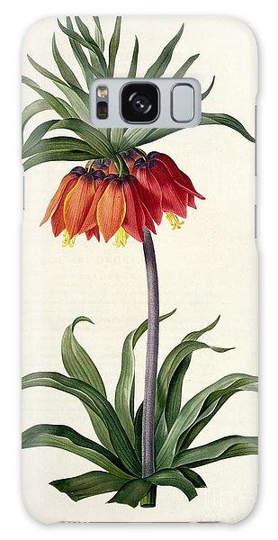 Botanical Garden Galaxy Case - Fritillaria Imperialis by Pierre Joseph Redoute