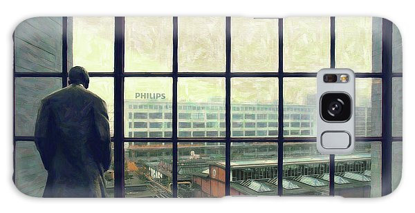Frits Is Overlooking His Philips Plants In Eindhoven Galaxy Case by Nop Briex