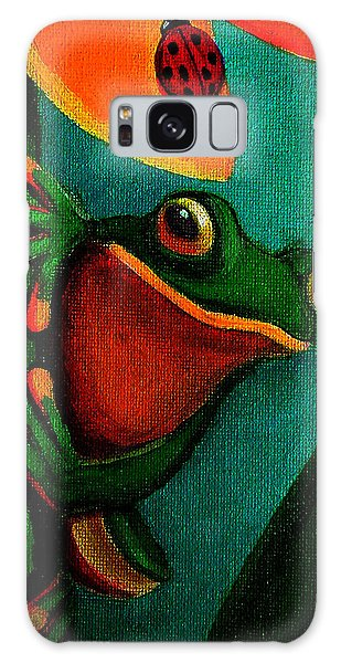 Frog And Ladybug Galaxy Case