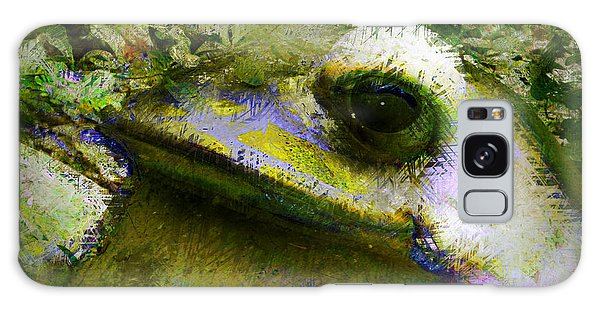 Frog In The Pond Galaxy Case by Lori Seaman