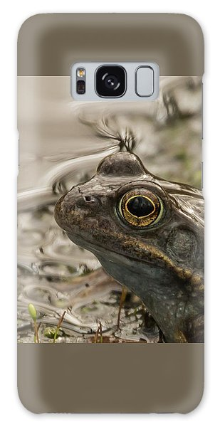 Frog Portrait Galaxy Case