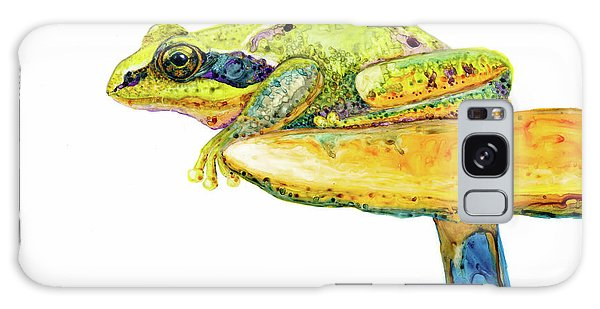 Frog Sitting On A Toad-stool Galaxy Case
