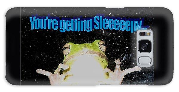 Frog  You're Getting Sleeeeeeepy Galaxy Case