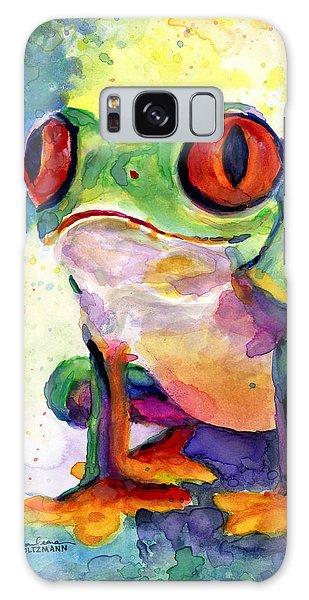 Froggy Mcfrogerson Galaxy Case