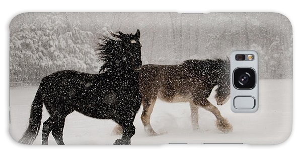 Frolic In The Snow Galaxy Case