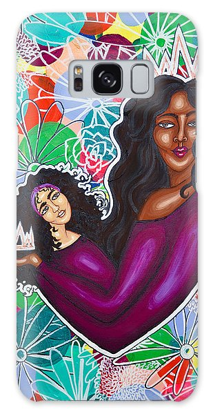 Galaxy Case featuring the painting From Mom With Love by Aliya Michelle