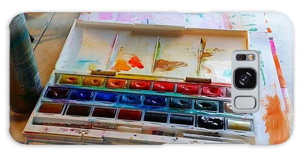 Colorful Galaxy Case - From #palette  To #paper ..adding Some by Robin Mead