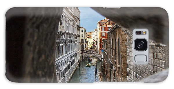 From The Bridge Of Sighs Venice Italy Galaxy Case