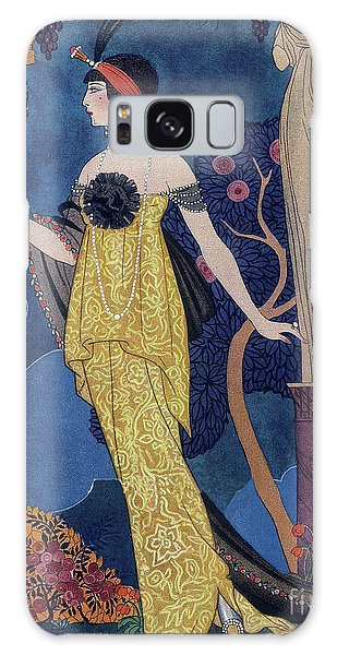 Plants Galaxy Case - Front Cover Of Les Modes by Georges Barbier