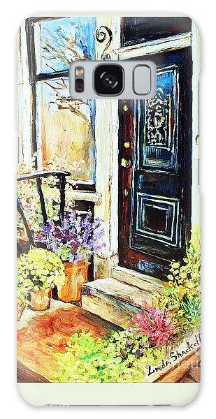 Front Porch Galaxy Case by Linda Shackelford