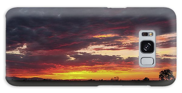 Front Range Sunset Galaxy Case by Monte Stevens
